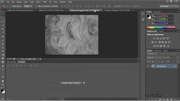 Creating a digital painting: Photoshop for Video Editors: Core Skills