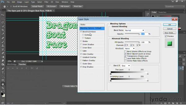 Creating a new PSD link: Photoshop for Video Editors: Core Skills