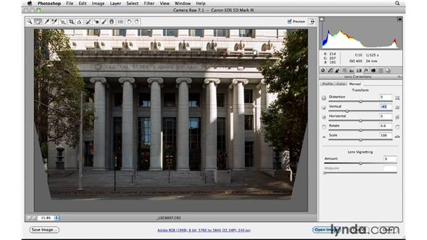Correcting perspective: Foundations of Photography: Specialty Lenses
