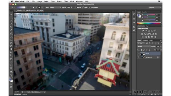 Creating the toy effect: Foundations of Photography: Specialty Lenses