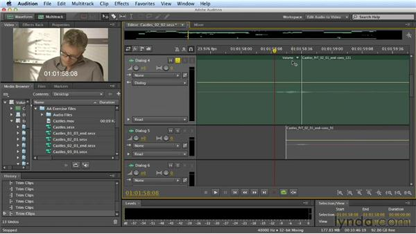Editing dialogue: Part one: Mixing a Short Film with Audition