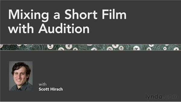 Next steps: Mixing a Short Film with Audition