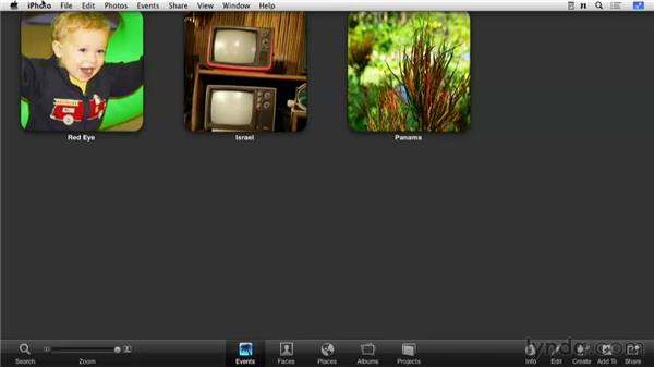 Working in Full-Screen mode: Enhancing Photos with iPhoto