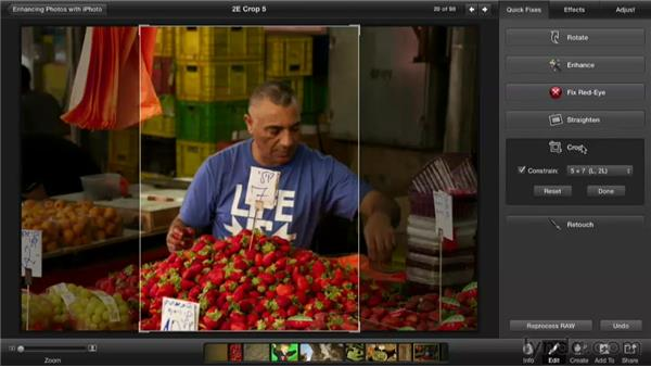 : Enhancing Photos with iPhoto