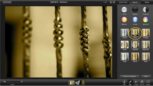 Double-processing for duotone effects: Enhancing Photos with iPhoto