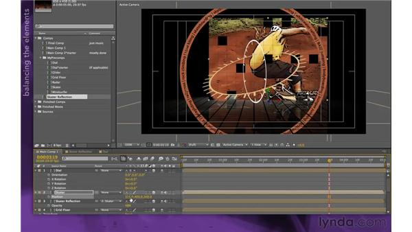 : After Effects Apprentice 15: Creating a Sports Opening Title