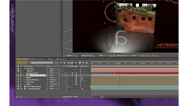 Tying up loose ends: After Effects Apprentice 15: Creating a Sports Opening Title