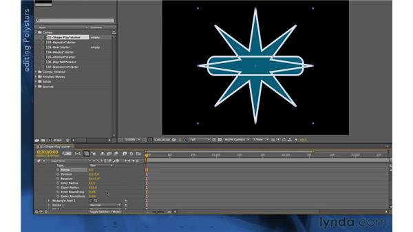 Creating multiple paths in the same group: After Effects Apprentice 14: Shape Layers