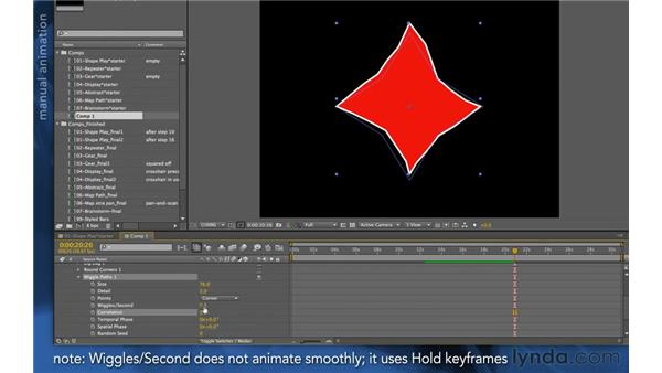 Wiggle Paths: After Effects Apprentice 14: Shape Layers