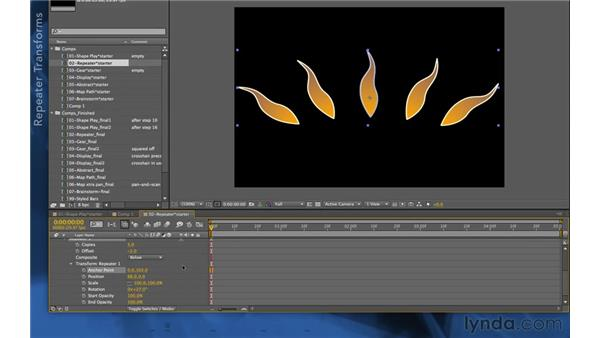 Repeater: After Effects Apprentice 14: Shape Layers