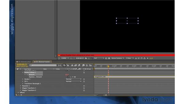 Blending multiple shapes into a texture: After Effects Apprentice 14: Shape Layers
