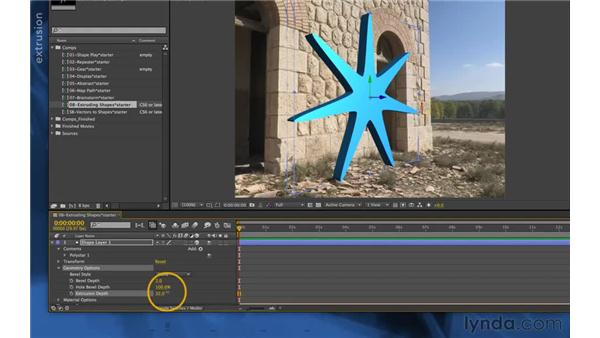 Geometry options (new in CS6): After Effects Apprentice 14: Shape Layers