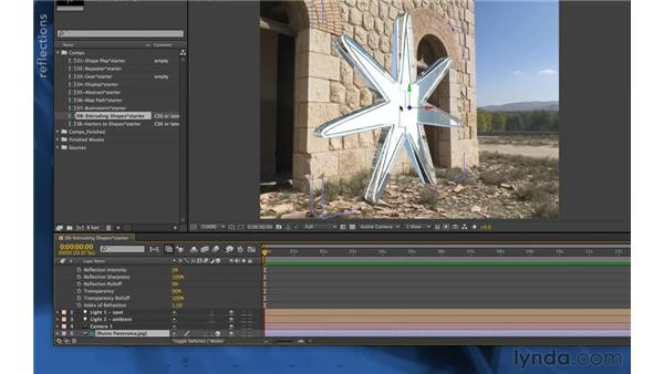 Material options (new in CS6): After Effects Apprentice 14: Shape Layers
