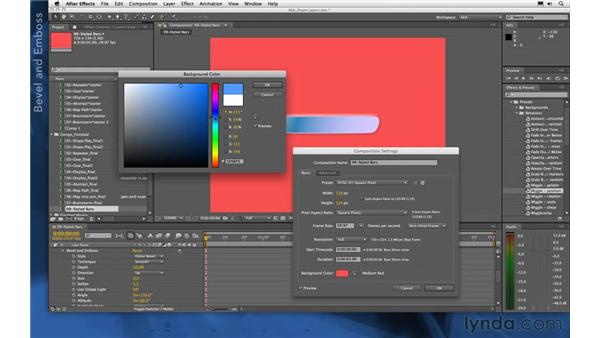 Tips for stylized bars: After Effects Apprentice 14: Shape Layers
