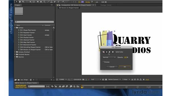 : After Effects Apprentice 14: Shape Layers