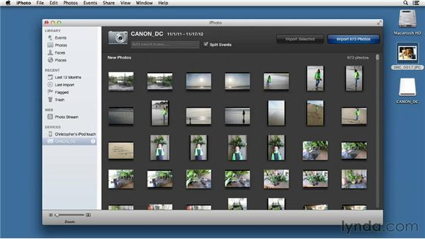 The great utility of Image Capture: Mac OS X Mountain Lion Essential Training