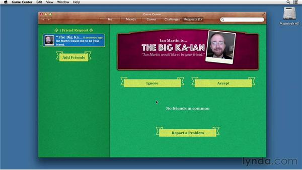 Getting your game on: Mac OS X Mountain Lion Essential Training