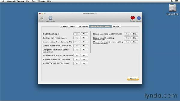 Advanced tips and tricks: Mac OS X Mountain Lion Essential Training