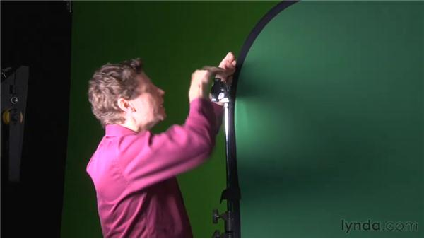 Using a Flexfill backdrop: Green Screen Techniques for Video and Photography