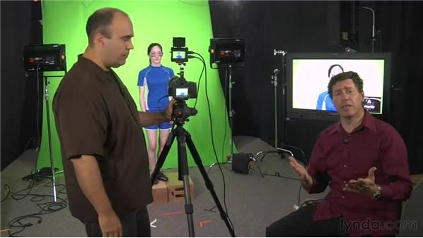 Shooting video with a DSLR: Green Screen Techniques for Video and Photography