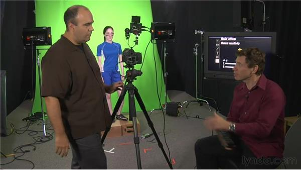 The sync sound workflow: Green Screen Techniques for Video and Photography