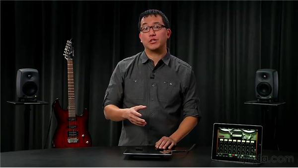 Bouncing, copying, and pasting: iPad Music Production: AmpliTube