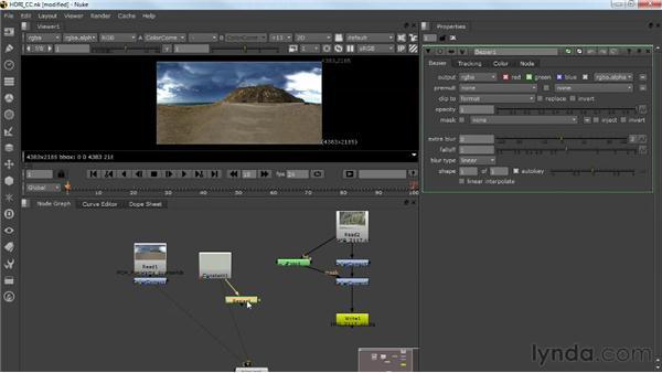 Correcting the HDRI: Photorealistic Lighting with Maya and Nuke