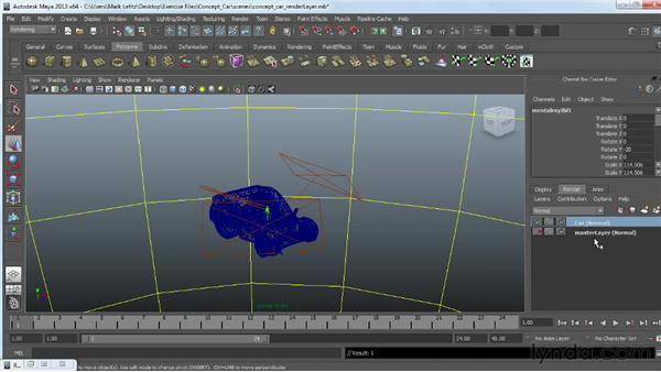 Using render layers: Photorealistic Lighting with Maya and Nuke