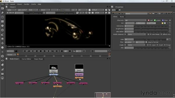 Creating 32-bit files: Photorealistic Lighting with Maya and Nuke