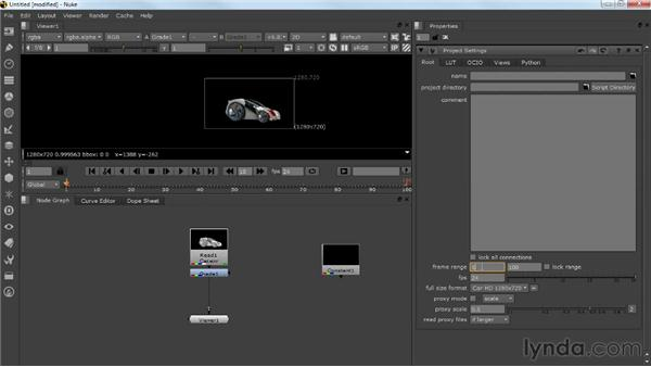 Getting started in Nuke: Photorealistic Lighting with Maya and Nuke