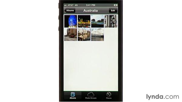 Syncing photos from a PC: iPhone and iPod touch iOS 6 Essential Training