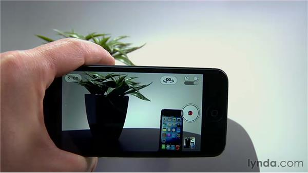 Shooting video: iPhone and iPod touch iOS 6 Essential Training