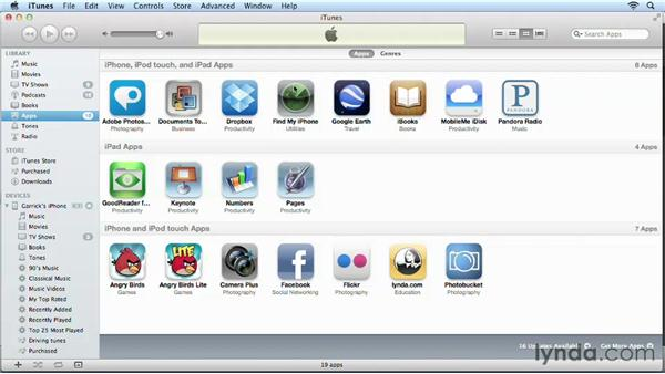 Purchasing apps: iPhone and iPod touch iOS 6 Essential Training