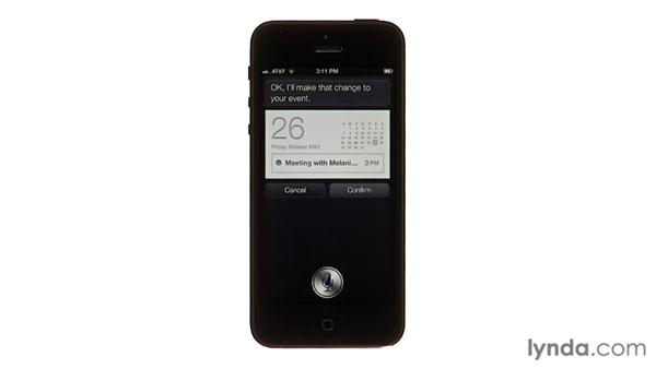 Setting reminders: iPhone and iPod touch iOS 6 Essential Training