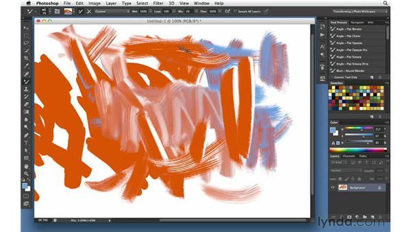 Setting Wacom stylus preferences: Digital Painting: Architecture