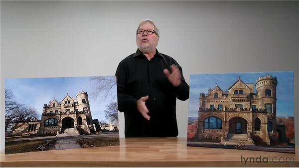 Visual vocabularies: Digital Painting: Architecture