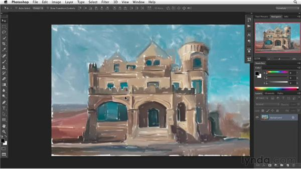 The vocabulary of painting: Digital Painting: Architecture