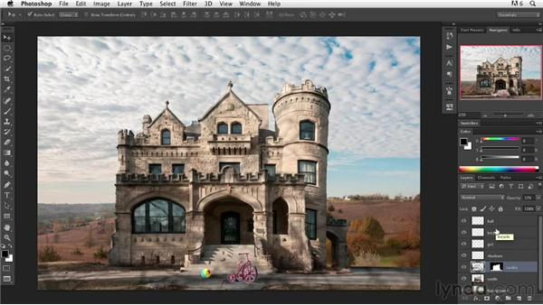 Using the Shadow/Highlight adjustment filter: Digital Painting: Architecture