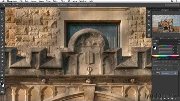 Resolution is in the brushstrokes: Digital Painting: Architecture