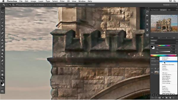 Using the Oil Paint filter: Digital Painting: Architecture