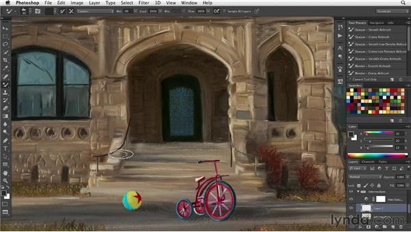 : Digital Painting: Architecture