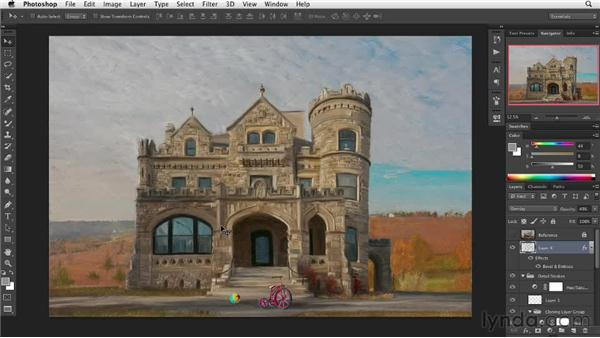 It pays to wait a day: Digital Painting: Architecture
