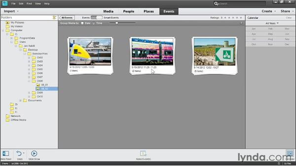 Creating Smart Events: Photoshop Elements 11 Essentials: 01 Importing and Organizing Photos