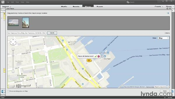 Adding location data to photos: Photoshop Elements 11 Essentials: 01 Importing and Organizing Photos