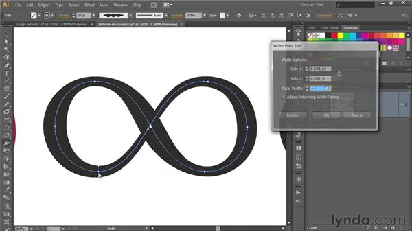 188 Crafting an Infinity symbol to match a specific font: Deke's Techniques