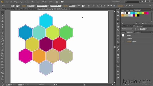 185 Creating a custom 2013 calendar in Illustrator: Deke's Techniques