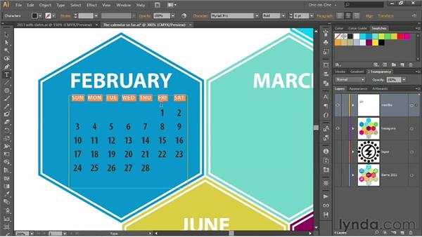 186 Adding dates to a calendar using tables: Deke's Techniques