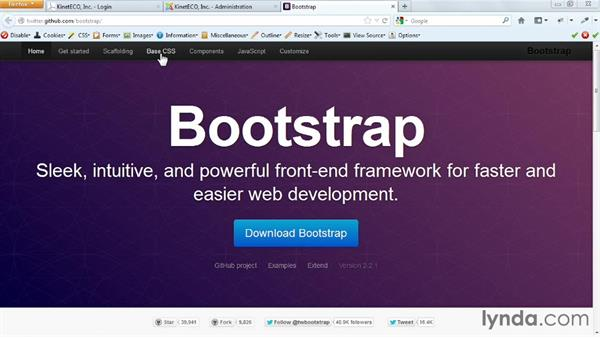 Welcome: Templating with Joomla! 3 and Bootstrap