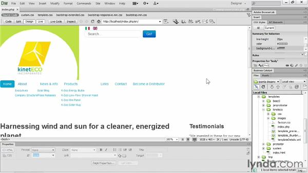 Dreamweaver CS6 and Joomla!: Workflows: Templating with Joomla! 3 and Bootstrap