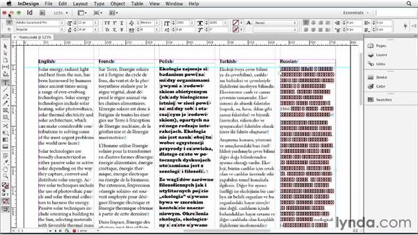 Exploring fonts and character sets: Multilingual Publishing Strategies with InDesign